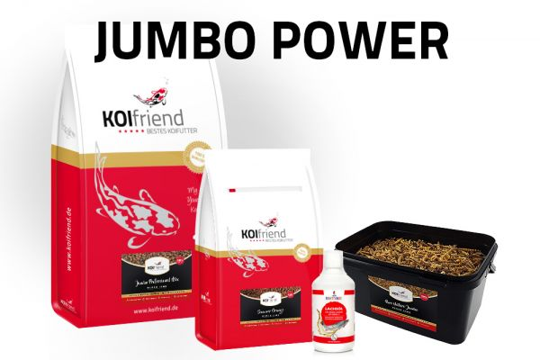 "Koifutter-Set ""Jumbo Power"""