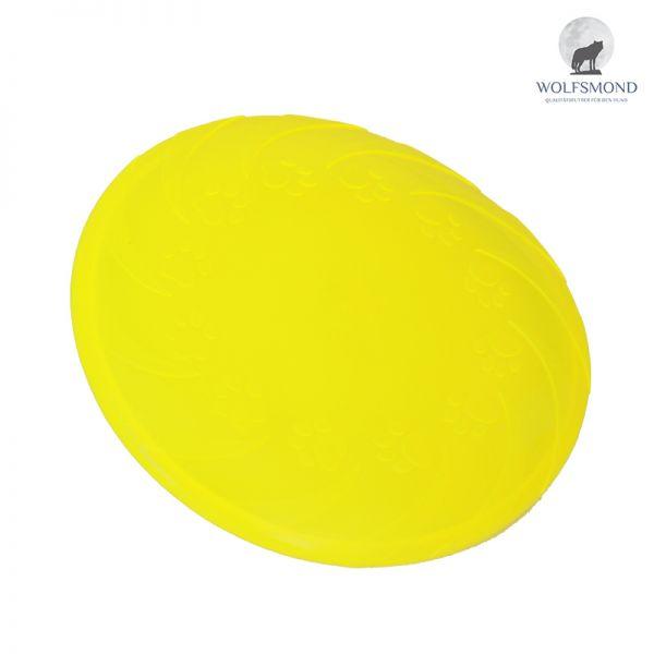Frisbee Dog Disc Wurfscheibe gelb