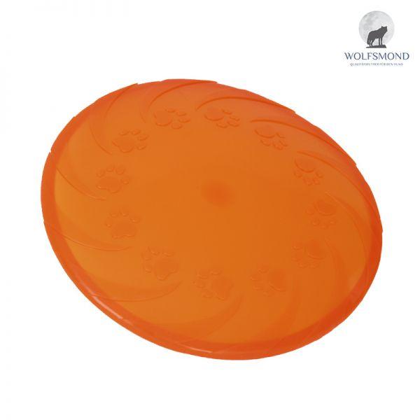 Frisbee Dog Disc Wurfscheibe orange