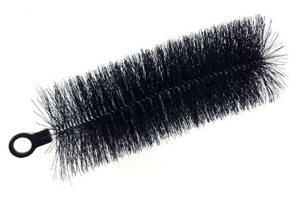 Filterbürsten schwarz gewellt