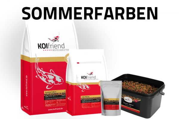 """Koifutter-Set """"Sommerfarben"""""""