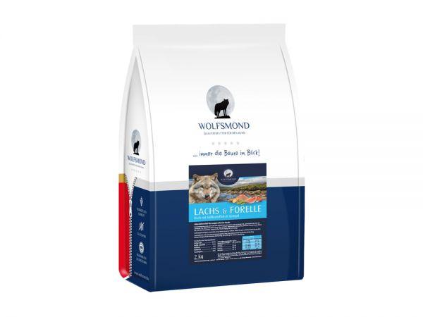 2kg Getreidefreies Hundefutter Lachs & Forelle