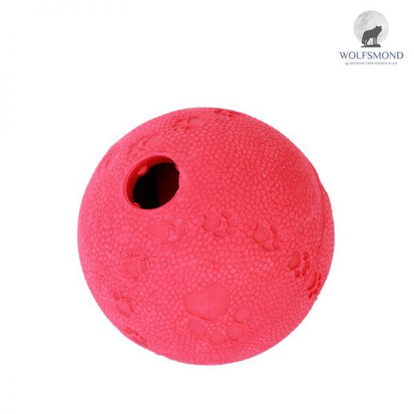 Naturgummi Snackball rot