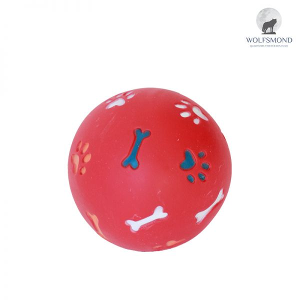 Kunststoff Snackball rot