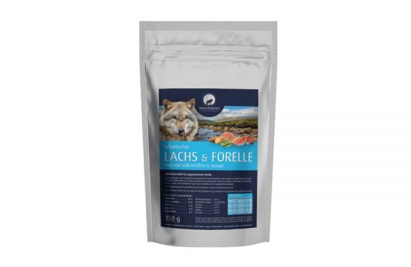 Hundefutter Lachs & Forelle